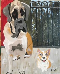 Wine, Linda Bell-Big Dog, Little Dog