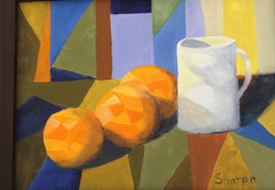 Sharpe, Susan-Three Oranges
