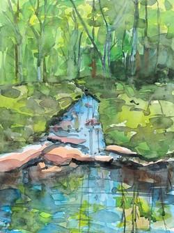 Giraldi, Angela-Woodland Stream
