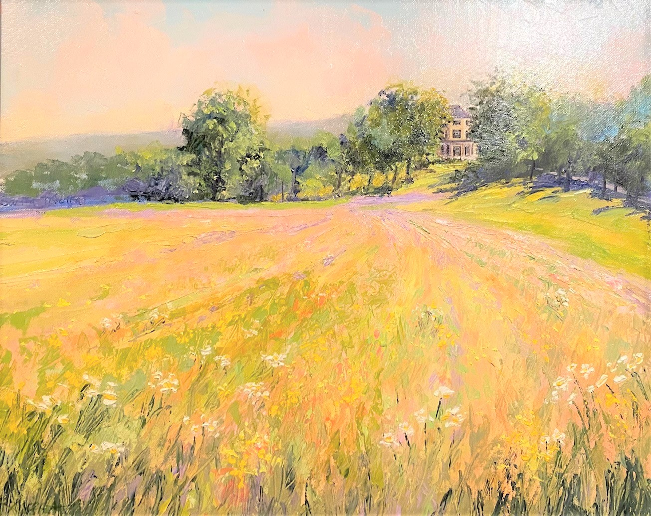 Sarita Moffat-Oatlands in the Summer