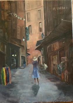 Carroll, Margaret-Box Girl in the City