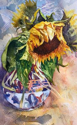 BruniniNoreen_Defeated_watercolor on gessoed paper