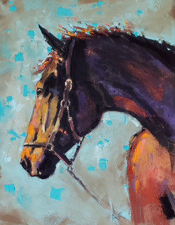 Reid, Anne-Horse Sketch