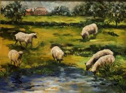 Gardiner, Maribe Chandler-Pastoral Scene
