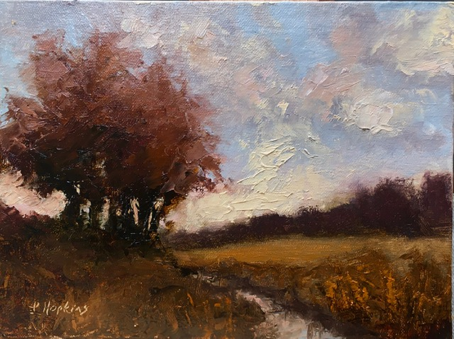 Hopkins, Laura-Landscape Study 56