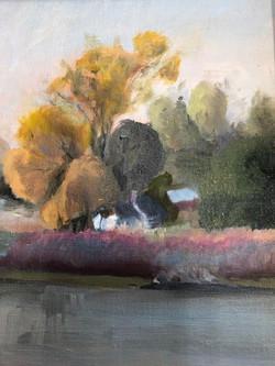 Misty Day on Cheasapeak, Jean Feneis