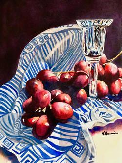 BruniniNoreen_GrapesCrystal_watercolor