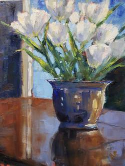 Reid, Anne-A Pot of Tulips