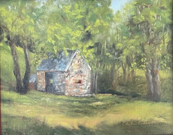 Cottrell_Paula_The Spring House_Oil 8x10