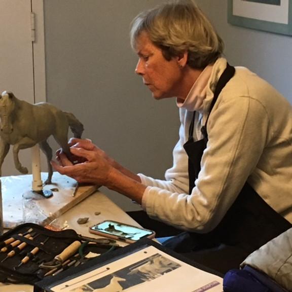 Free Zoom Class: Sculpting Horses with Goksin Carey