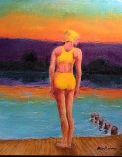 Rubin, Alan-Sunset Swimmer