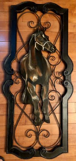 Cadenas, Debbie-Horse on the Rails