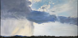 Dugas Angela-Partly cloudy-oil on canvas