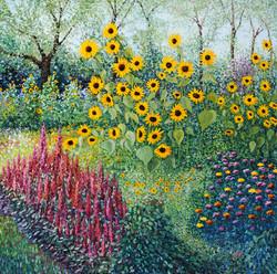 Hindle, Stuart Allison-Sunflower Garden
