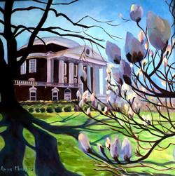 Block, Anne-Magnolias at UVA Rotunda New