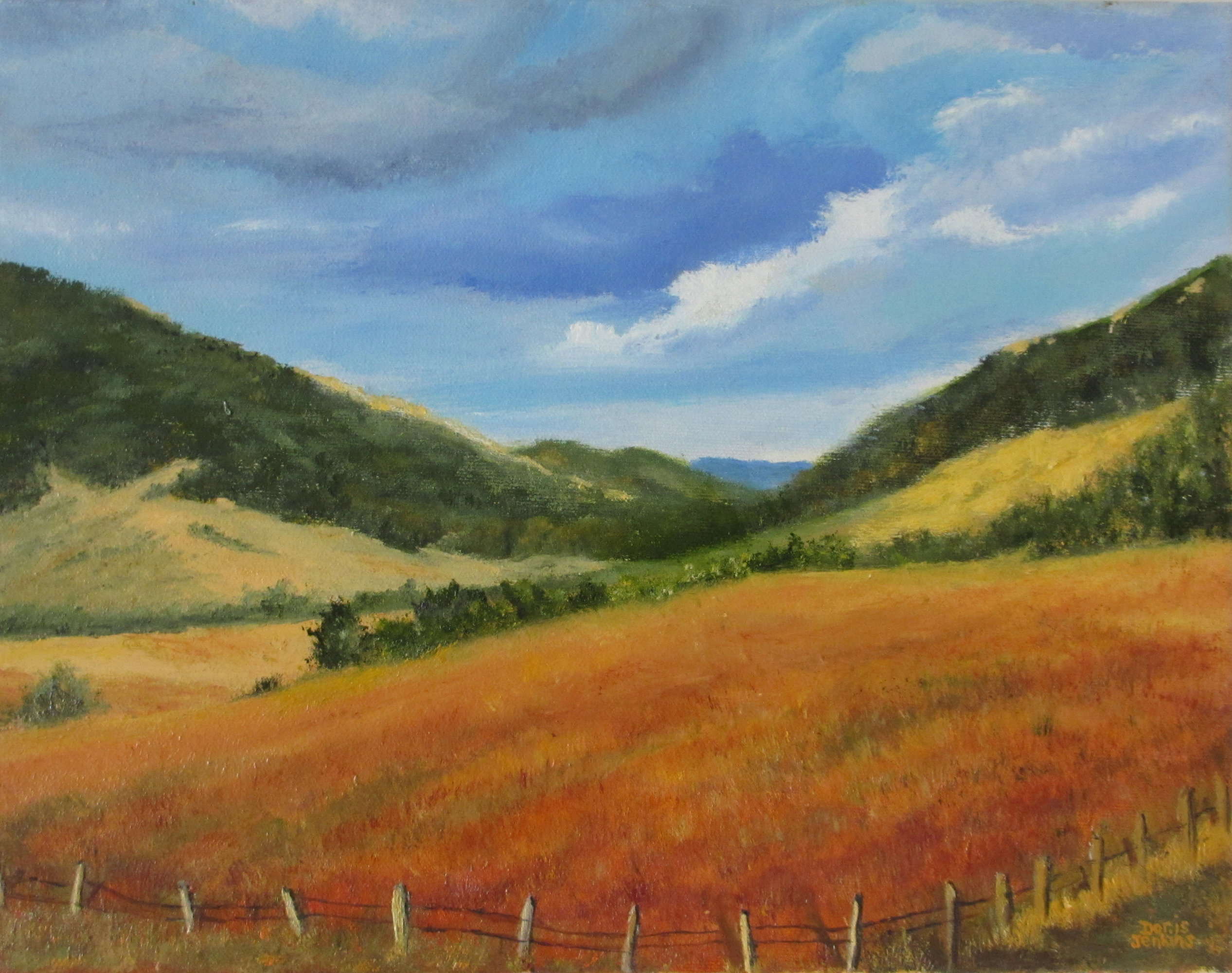 Jenkins, Doris_IntoTheValley_Oil