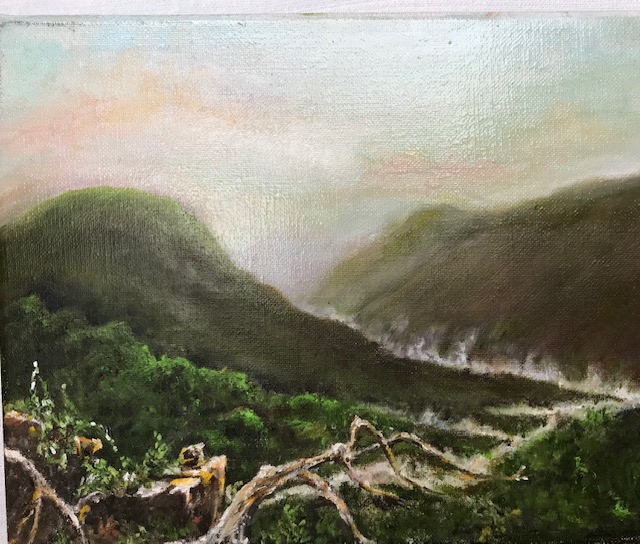 Emmling, Charles-River Mist, oil