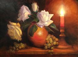 Moffat, Sarita- Candlelight Oil 18x24