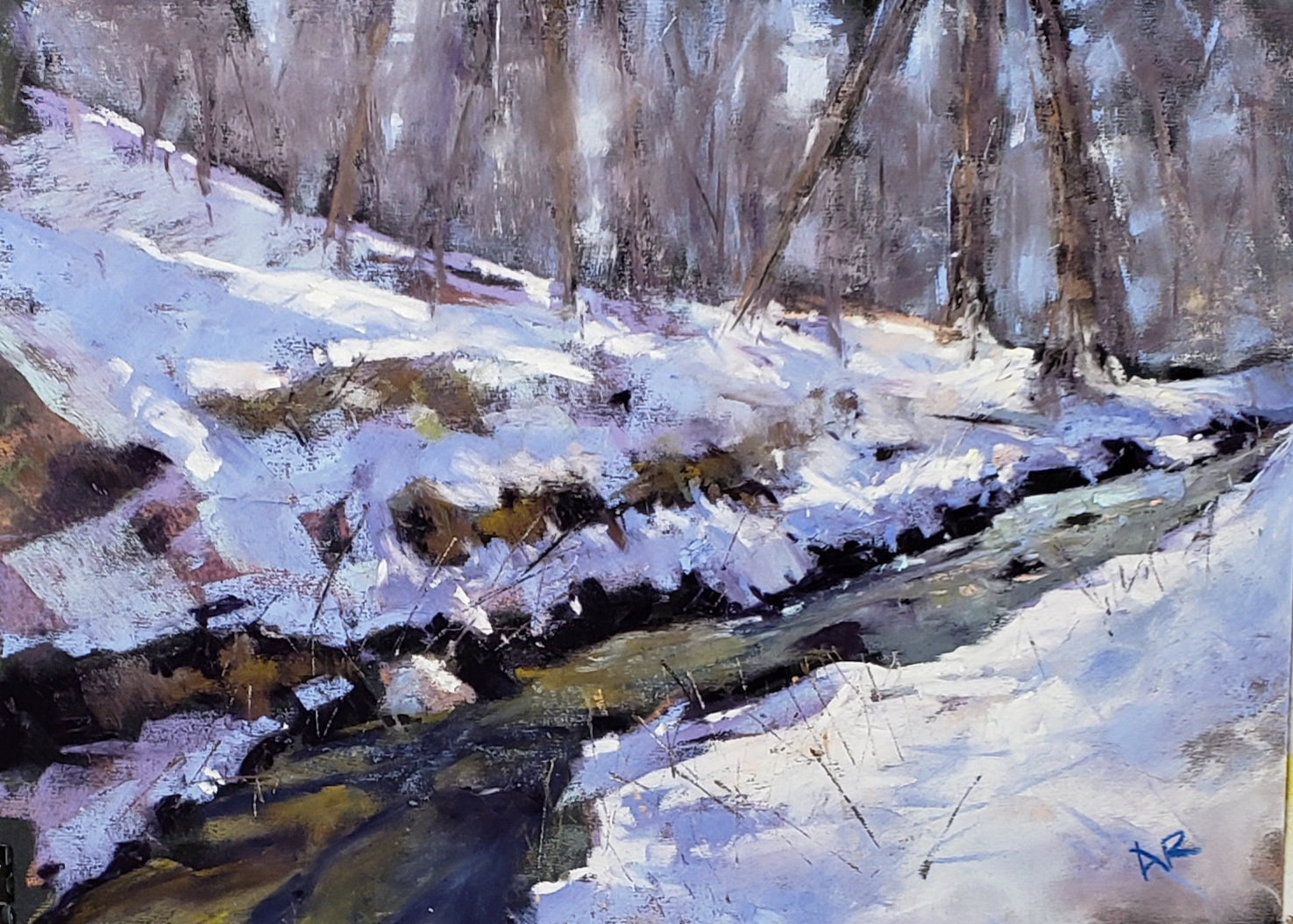 Anne Reid-Quiet Stream