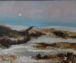 Hopkins, Laura-Moonrise Over Delaplane