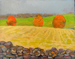 Nadler, Marci-Virginia Countryside, 3 Trees Off Rokeby Road
