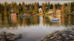 Moffat_Sarita_Last Summer on the LakeOil
