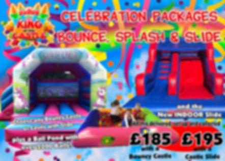 Bounce Splash and Slide
