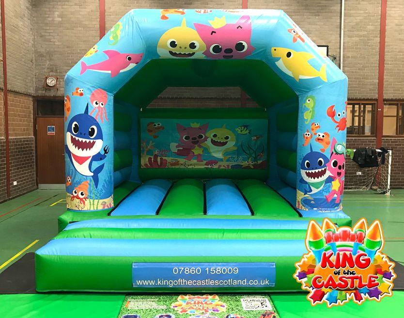 Baby Shark Bouncy Castle