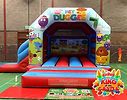 Hey Duggee Bouncy Castle with Slide Hire