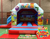Bouncy Castle with a Slide Hire in Kettlebridge