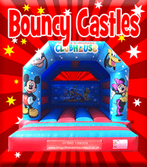Bouncy Castle Hire in Fife, Kinross, Clackmannanshire and Falkirk