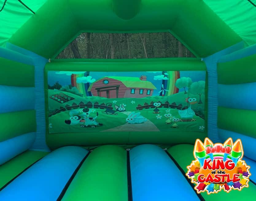 Farmyard Bouncy Castle Hire