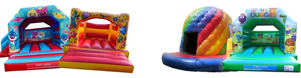King of the Castle Scotland - Bouncy Castle, Disco Dome and Inflatable Hire throughout Fie, Clackmannanshire, Falkirk, Kinross and Queensferry
