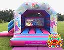 Disney Princess Bouncy Castle with Slide Hire