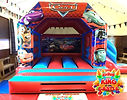 Cars Bouncy Castle with Slide Hire