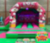 LOL Disco Bouncy Castle