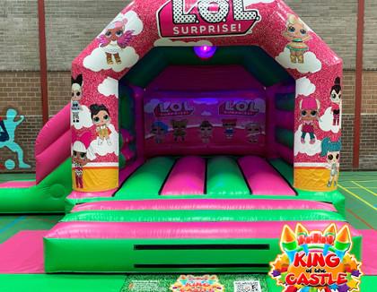 LOL Disco Bouncy Castle Hire - Dunfermline