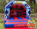 Sonic the Hedgehog Bouncy Castle Hire