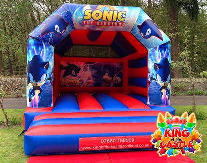 Sonic the Hedgehog Bouncy Castle