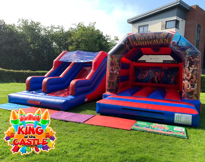 The Greatest Showman Bouncy Castle