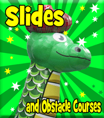 Inflatable Slide Hire in Fife, Kinross, Clackmannanshire and Falkirk