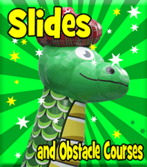 Inflatable Slides and Obstacle Courses