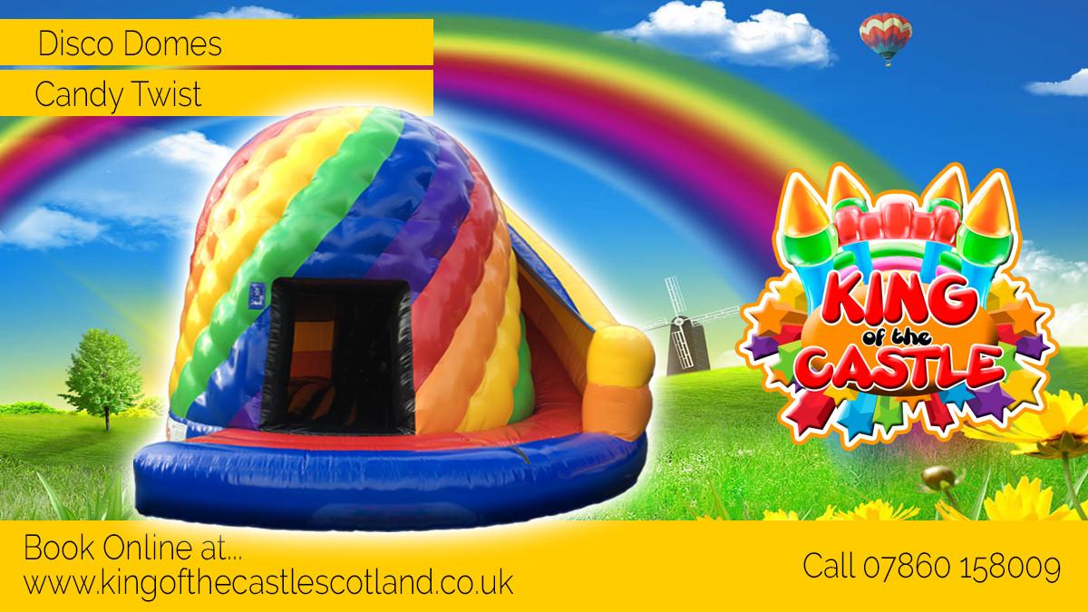 Inflatable Disco Dome Hire Fife Kinross Dollar Alloa