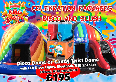 Disco Dome and Slush Machine Rental Hir