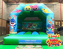 Baby Shark Bouncy Castle Hire