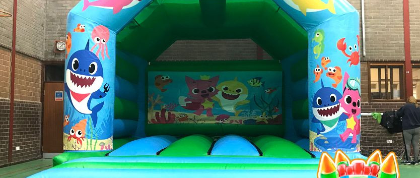 Baby Shark Bouncy Castle