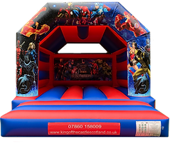 Avengers Bouncy Castle Hire Fife