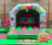 Baby Shark Disco Bouncy Castle