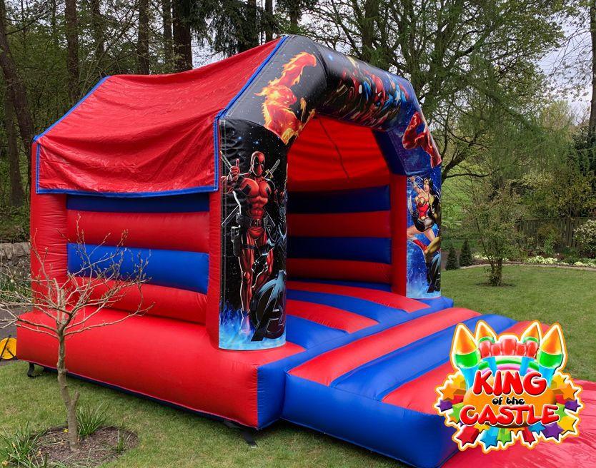 Avengers Bouncy Castle