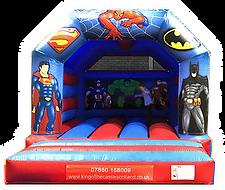 Super Heroes Bouncy Castle Larbert